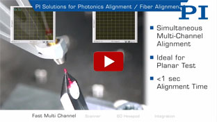 Automated Fiber & Photonics Alignment Engines / Solutions